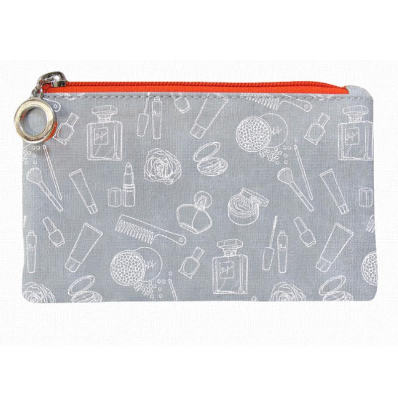 Travel pouch cosmetic bag