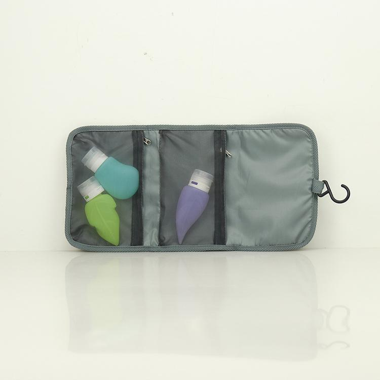 Neoprene Hanging Travel Gear Organizer Cosmetic Bag Small Gadget Carry Case Toiletly Bag Pouch