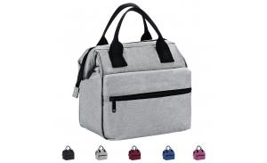 Lunch Box Insulated Lunch Bag For Men &Women Meal Prep Lunch Tote Boxes For Kids & Adults(Grey)
