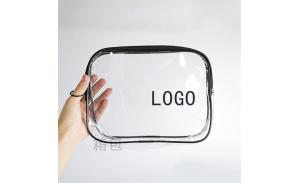 Fashion Zipper Travel PVC Lady Clear Cosmetic Makeup Bag