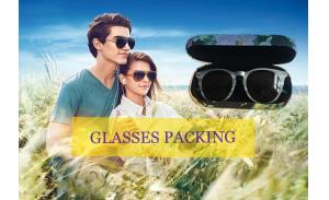 Wholesale hard shell sunglasses case hard case for sunglasses customizable sunglasses cases