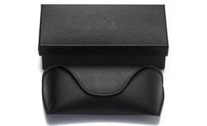 Packaging boxes glasses case men and women high-end suite glasses cloth car clip