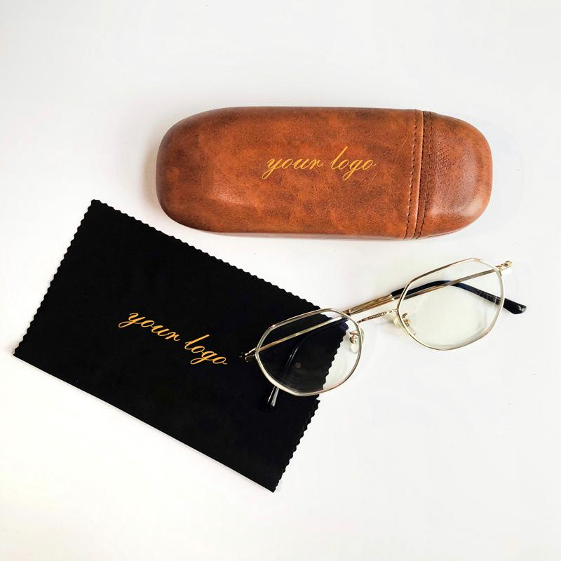 Pu glasses case,high quality sunglasses eyeglasses case custom logo box leather pouch sunglasses case luxury