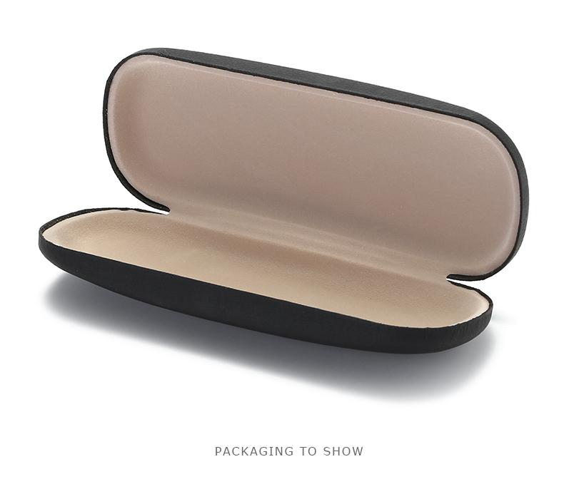 Wholesale High Quality Glasses Case Sunglasses Box  Hard Leather Glasses Case