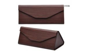 Wholesale Branded Pu Leather Sunglasses Case,Custom Logo Printed Folding Case For Sunglasses