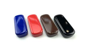 Colourful Cute personalized plastic eyeglass case