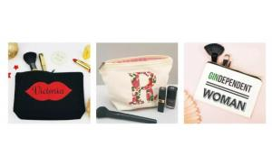 Hot Selling Logo Printed Make Up Bag Custom Cotton Canvas Cosmetic Bag