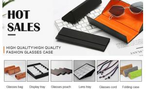 Wholesale Eco-friendly indestructible glasses case sunglasses box and pouch