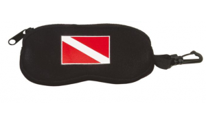Soft zipper neoprene glasses case/neoprene eyeglass bag