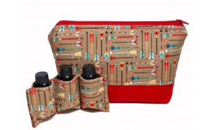 Travel Storage 13 Bottle Essential Oil Carrying Case For Doterra Young Living Bottles