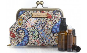 Beautiful And Stylish Young Living Travel Carrying Essential Oil Bags And Cases For Purse
