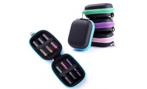 6 Bottles Essential Oil Case Protects For 5ml Rollers Essential Oils Bag Travel Carrying Storage Bags Oil Bottle Organizer