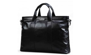 Leather Briefcase Messenger Business Bags Laptop Handbag for Men