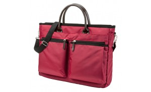 Red Briefcase Laptop Bag Notebook Computer Business Handbag