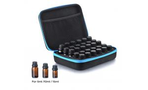 Essential Oil Handy Case Custom EVA Bag Carrying Case Holds 16 Bottles for Travel