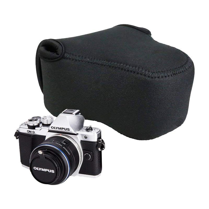 2020 eco-friendly durable neoprene personalized waterproof soft camera lens pouch case