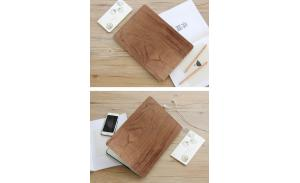 Custom Design Genuine Wood Cover Skin Laptop Bag For Macbook Air 13 inch