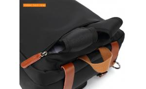 Waterproof Convertible Custom Tote Backpack Fit 17.3 Inch Laptop Messenger Bag Laptop Briefcase