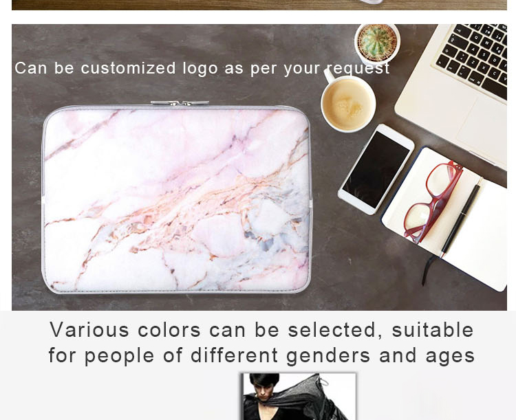 11 13 14 15 inch Portable eco-friendly customized computer zipper laptop bags