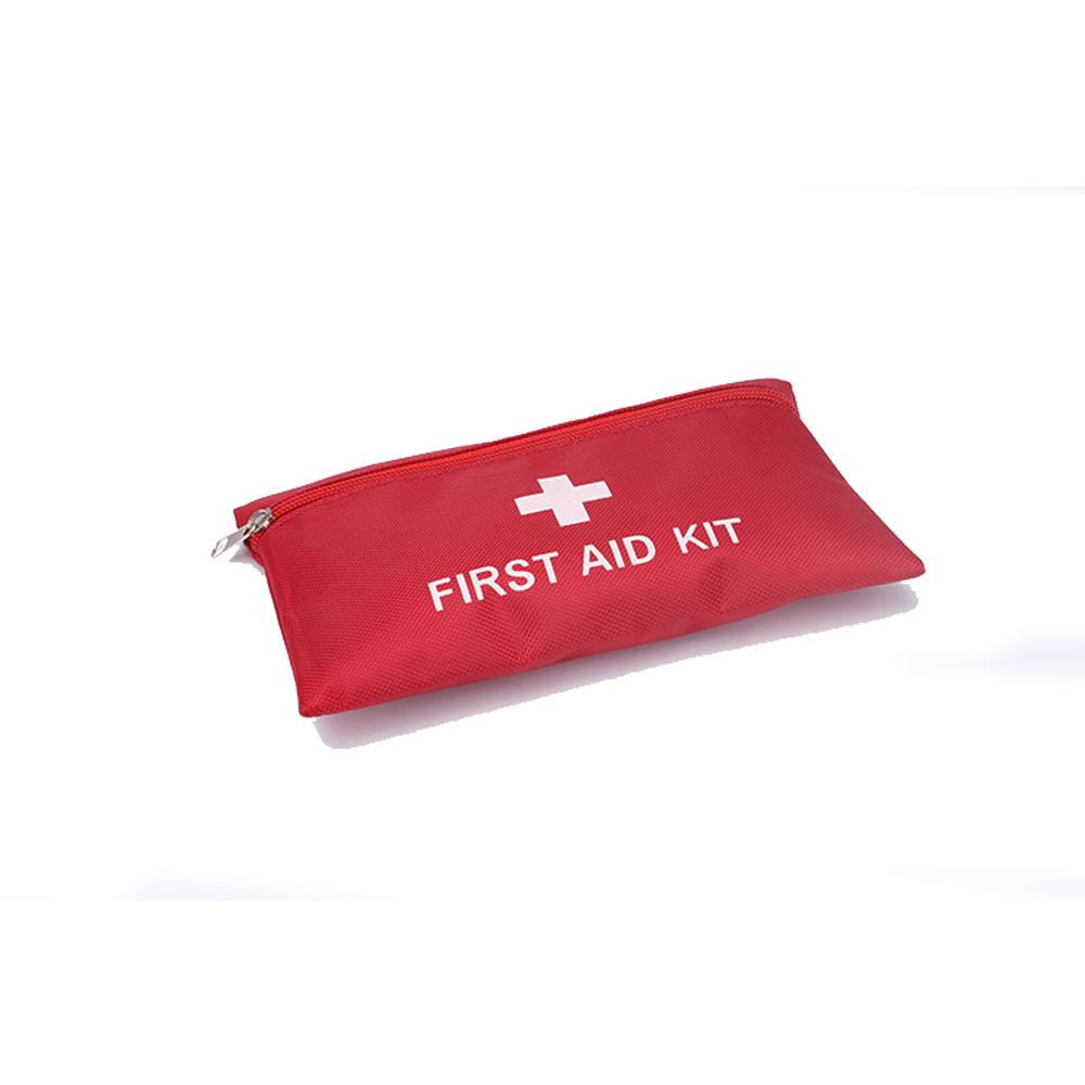 Factory wholesale promotional red cross emergency first aid kit bag with supplies