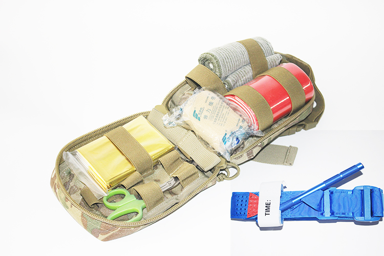 Wholesale emergency military medical backpack first aid kit