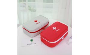 Light weight medical first aid bag for travel